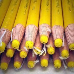 Yellow markers