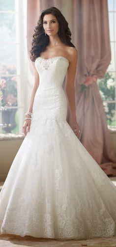 David Tutera for Mon Cheri Fall 2014 Bridal Collection   bellethemagazine.com