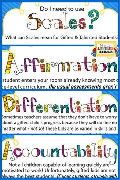 What can Marzano scales do for your gifted and talented kids? Follow this blog post to understand what they need and how to encourage skills beyond academics with scales!
