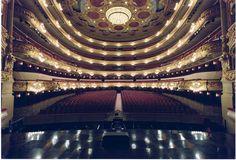 El teatro en Barcelona.