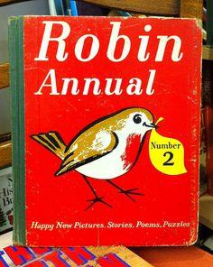 Robin Annual 1950s