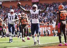 1 of 3 touchdowns Bennett scored vs the Browns.......