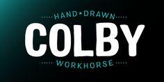 Colby - Webfont & Desktop font « MyFonts