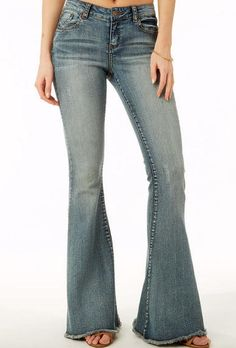 Trinity Flare Jeans | Cotton, Clothes and Stitch