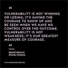 #risingstrong #brenebrown #vulnerability