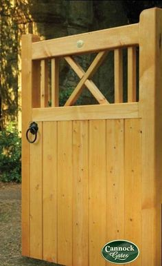 Great Buxton Wooden Garden Gate From Cannock Gates
