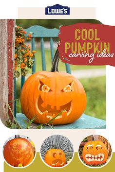 Check out our fun designs to turn any pumpkin into a masterpiece.