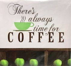 Coffee Shop Wall Decals Peel And Stick Wall Decals Decorative New