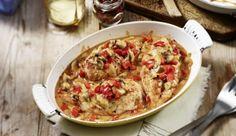 Gratinierte Hähnchenbrustfilets in Pfeffersauce - ein verlockenes Rezept aus der Kategorie Aus dem Ofen. Einfach und schnell von MAGGI.