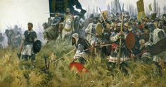 The Battle of Kulikovo (Russian: Мамаево побоище, Донское побоище, Куликовская битва, битва на Куликовом поле) was fought between the armies of the Golden Horde under the command of Mamai, and various Russian principalities under the united command of Prince Dmitri of Moscow. The battle took place on 8 September 1380, at the Kulikovo Field near the Don River (now Tula Oblast) and was won by Dmitri, who became known as Donskoy (of the Don) after the battle.
