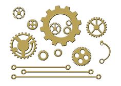 Gears and Rails by boozybear on Etsy