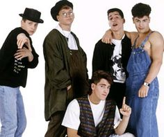 NKOTB....Don't judge me.  I was 11 or 12!