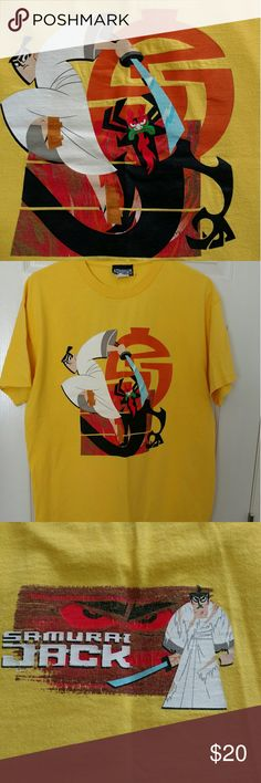 Men's Samurai Jack t-shirt From the original Samurai Jack series. Label reads Cartoon Network. Size Large. In good used condition. Cartoon Network Shirts Tees - Short Sleeve