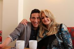 #Eurovision: Bonnie Tyler shares a cup of tea with Gianluca Bezzina