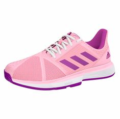 c14ff17846b4e9 Women`s CourtJam Bounce Multicourt Tennis Shoes True Pink and Active Purple