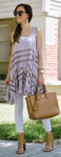 Lane Lines Outfit Idea by Sequins & Things