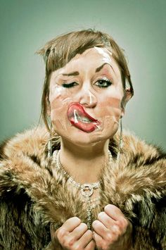 Scotch-Tape- the face for distortions then draw, paint or photograph. Better than photoshop Wes-Naman-18