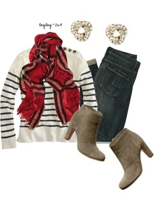 """""""Striped & Plaid"""" by taytay-268 on Polyvore"""