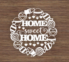 The Best Tips and Tricks showing you how to design elements for use when designing papercutting templates using free designer programs. Silhouette Cameo, Paper Art, Paper Crafts, Paper Cutting Templates, Stencil Painting, Love Is Sweet, Kirigami, Word Art, Sweet Home