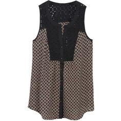 Love tops like this for the Spring/Summer