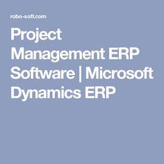 Project Management ERP Software   Microsoft Dynamics ERP