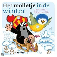 Het molletje in de winter: Ook kleuters kunnen nu genieten van de avonturen van het schattige molletje en samen met hem de seizoenen ontdekken. Voor elk jaargetijde is een kartonboekje met een pakkend versje.