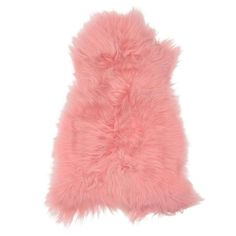 Icelandic Sheepskin Rug Candy Pink Hides of Excellence- Single 120 x 80cm