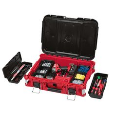Milwaukee Toolbarn has packaged together 3 popular Milwaukee PACKOUT components into one awesome starter kit. This includes a small Milwaukee PAC Modular Storage, Tool Storage, Trailer Storage, Milwaukee Tool Box, Kids Bedroom Storage, Diy Cnc Router, Plumbing Tools, Plumbing Vent, Dewalt Tools