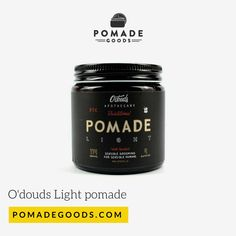 Shop for O'douds traditional light pomade if your after a light hold and high shine pomade. Pomadegoods has a range of of the best men's hair pomade. Mens Pomade, Hair Pomade, Traditional Lighting, The Originals