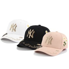 4a9493f9e48e7 The Little Bee NY Baseball Cap Tide Brand Fashion Hip Hop Cap Visor Hat