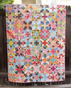 Kitchen Table Quilting: x and + quilt