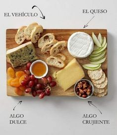 Springtime Dishes Cheese Plate - How to Make A Perfect Cheese Plate. For all the get together a I'm hosting in my new house- duh!Cheese Plate - How to Make A Perfect Cheese Plate. For all the get together a I'm hosting in my new house- duh! Food For Thought, Yummy Food, Tasty, Cooking Recipes, Healthy Recipes, Cooking Tips, Healthy Food, Simple Recipes, Healthy Eating