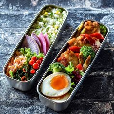Work Lunch Box, Cute Lunch Boxes, Bento Box Lunch, Japanese Food Sushi, Japanese Lunch, Plate Lunch, Healthy Snacks, Healthy Recipes, Bento Recipes