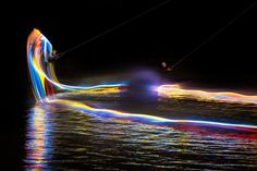 Wakeboarding in the Night