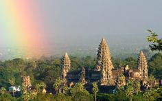 Mysterious earth mounds discovered by lasers at reveal hidden Cambodian cities of Angkor Wat