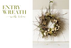 Lilac Entry Wreath Flowers by Scent | B-Inspired | BHLDN