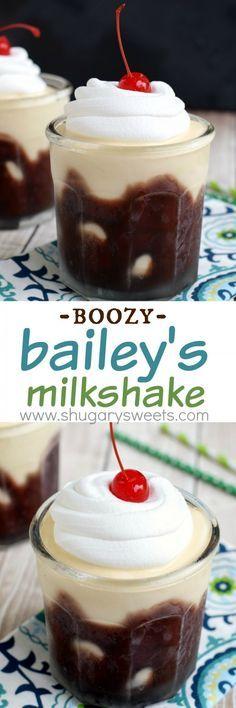 The Perfect Tan: a boozy Baileys Irish Cream milkshake perfect for a hot summer day!