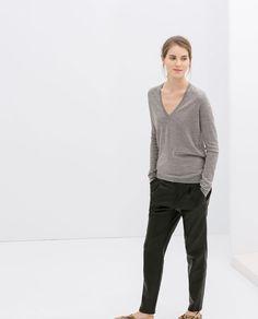 JERSEY LANA MERINO de Zara, 39,95€