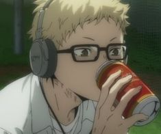 Tsukiyama Haikyuu, Haikyuu Tsukishima, Haikyuu Anime, Anime Bebe, Me Anime, Anime Guys, Haikyuu Characters, Anime Characters, Fullmetal Alchemist