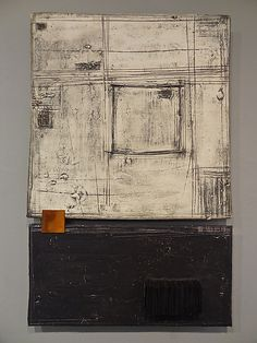 Black, White and Rust by Lori Katz: Ceramic Wall Art available at www.artfulhome.com