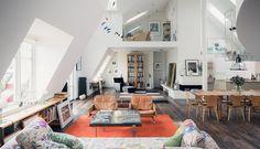 Photographer Mikael Jansons Stockholm apartment. Architecture and interior by sandellsandberg / Thomas Sandell.