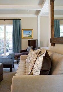 Offwhite Living Room Curtain Ideas