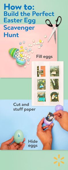 An Easterscavenger hunt is a wonderful way tobreathe somemagic intoyourEaster celebrationwithout a lot of time, expense or effort.All you need to get started are Easter baskets and some imagination. Find everything you need to create the ultimate egg hunt at Walmart today.