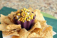 Charred Corn Salsa and Chips