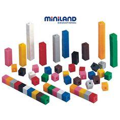 Regletas matemáticas de plástico   1000 piezas