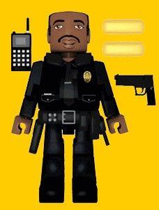 Die Hard Palz Mini Figures Sgt. Al Powell - The Movie Store