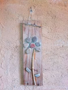 Mosaic Garden Art, Wind Chimes, Ladder Decor, Outdoor Decor, Home Decor, Wood Scraps, Homemade Home Decor, Decoration Home, Dreamcatchers