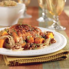 IP chicken thighs, butternut squash, carrots, other root veggies, onions Root Veggies, Chicken And Vegetables, Ip Chicken, Chicken Recipes, Chicken Thighs, Pressure Cooker Recipes, Pressure Cooking, Slow Cooker, Apricot Chicken