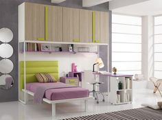 Modern Italian Kids Bedroom Set ONE 409 by Spar Modern Kids