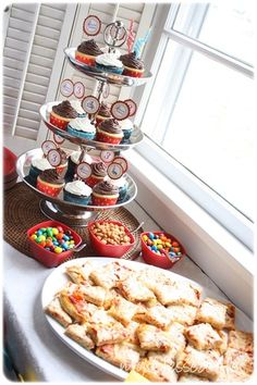 Curious George party food ideas.